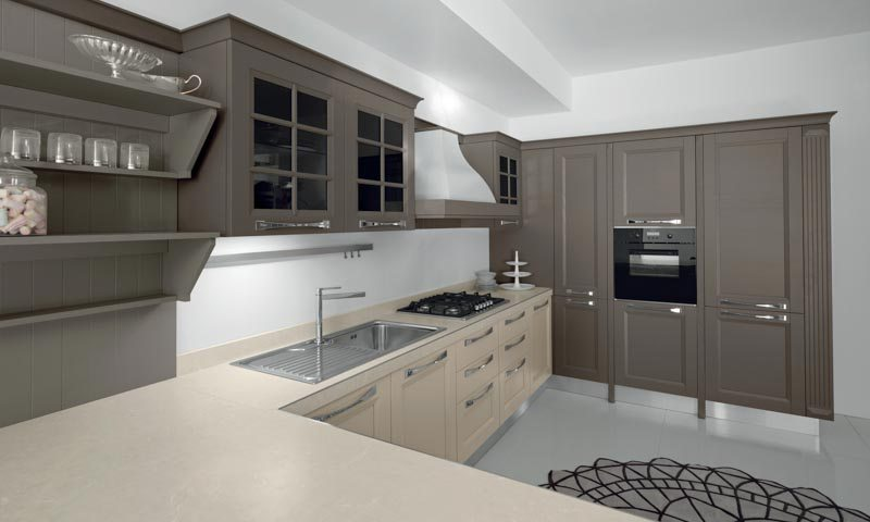 Contemporary Kitchen Cabinets Ylenia European Cabinets