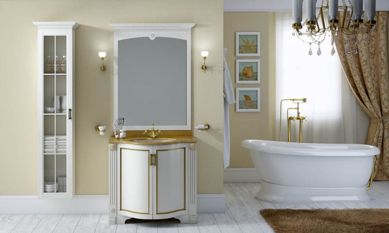 Traditional bathroom cabinets by BMT Bagni  European Cabinets