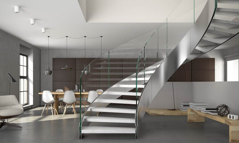 Modern Staircases, Spiral Stairs, and Custom Stair Design ...