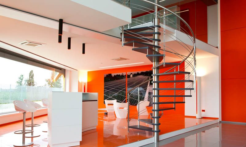 Modern staircases, spiral stairs, contemporary staircases, modern stair design, custom staircases