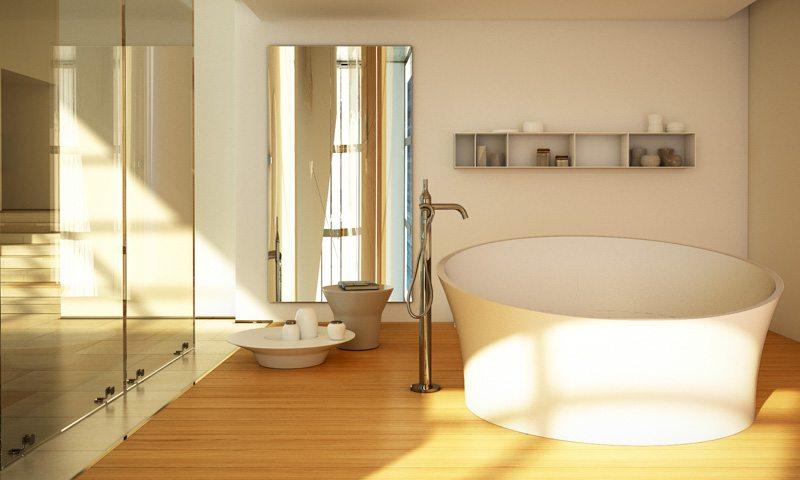 Dimasi bathroom design trends freestanding bathtub