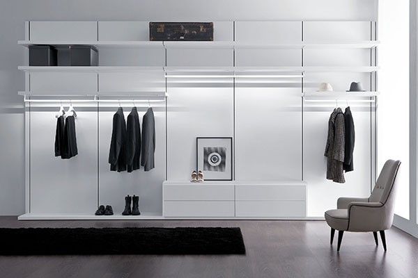 Pianca antiprima walk in closet