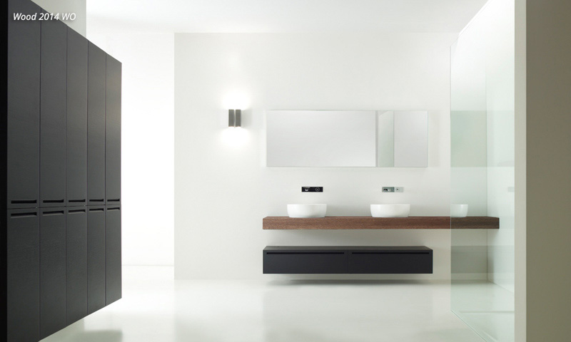 modern bathroom vanities wood european cabinets design