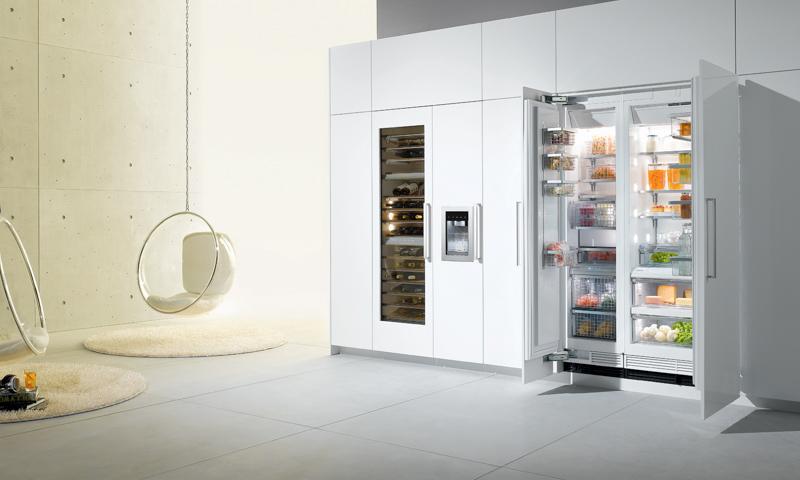 Modern kitchen appliances Miele Liebherr Bertazzoni Fagor Gaggeneau KitchenAid SMEG
