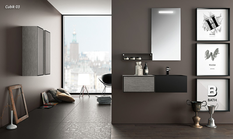 Floating Bathroom Vanity Cubik European Cabinets Amp Design