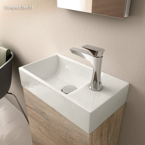 Floating Bathroom Vanity – Compact | European Cabinets & Design