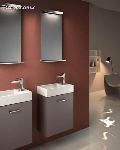Floating Bathroom Vanity Compact European Cabinets Design