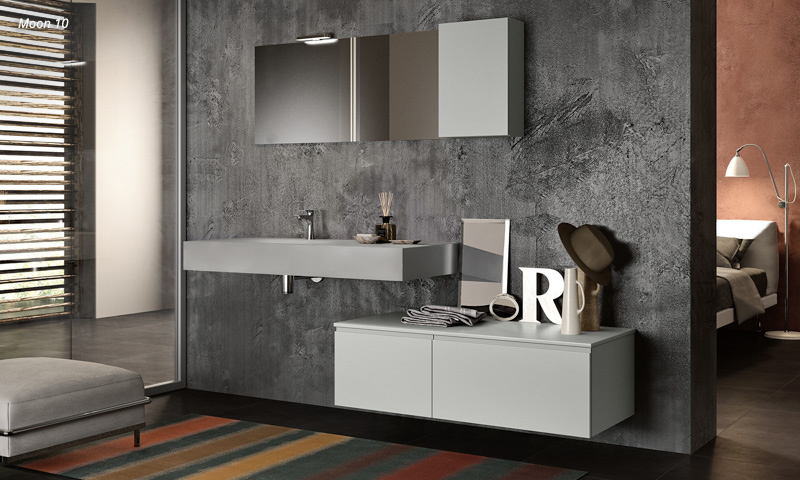 Modern bathroom vanities bathroom fixtures 100 made in for Module salle de bain