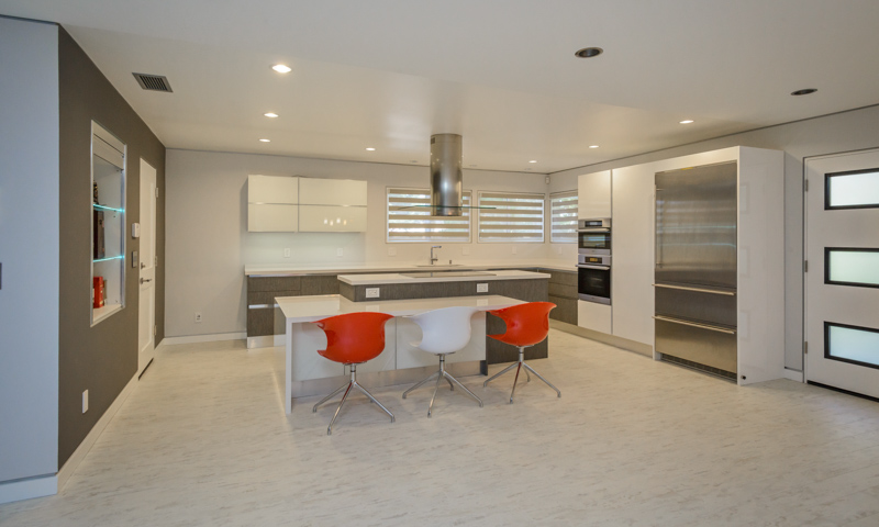 Palo Alto Remodel W Custom Kitchen Features