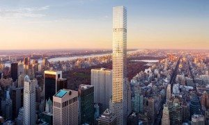New York's 432 Park Avenue is the third tallest residential building in the world.