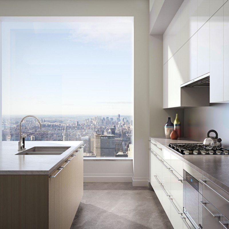 Arab Cucine has been chosen to furnish 142 kitchens and utility areas at 432 Park Avenue.