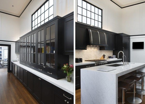black white blue top kitchen colors for 2015 european cabinets