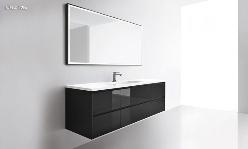 Modern Bathroom Vanities Hitech European Cabinets Design