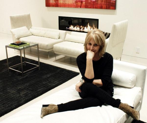 Interior designer Kathy Monarch. Photo: Morgan Riccilli Slade.