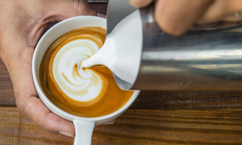 how to make the perfect caffe latte cappuccino