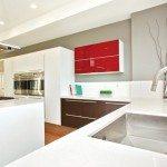 Modern kitchen cabinets Aran Cucine Erika collection dark oak