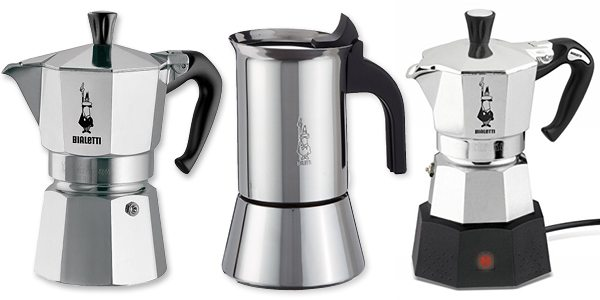 how to make the perfect caffe latte using a Bialetti espresso maker