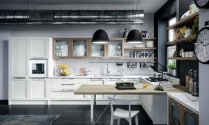 contemporary european kitchen