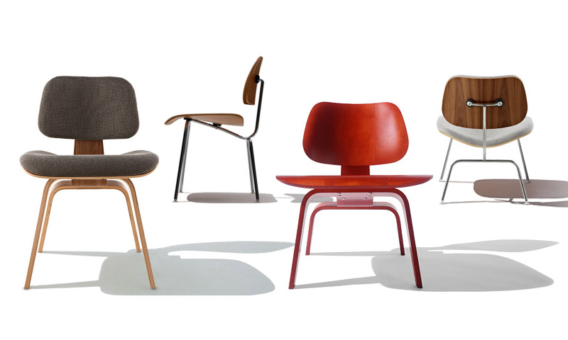 eames molded plywood chair modern dining room chairs