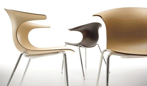 loop chair modern dining room chairs