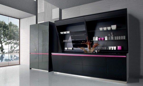 Karim Rashid Kook modern Italian kitchen