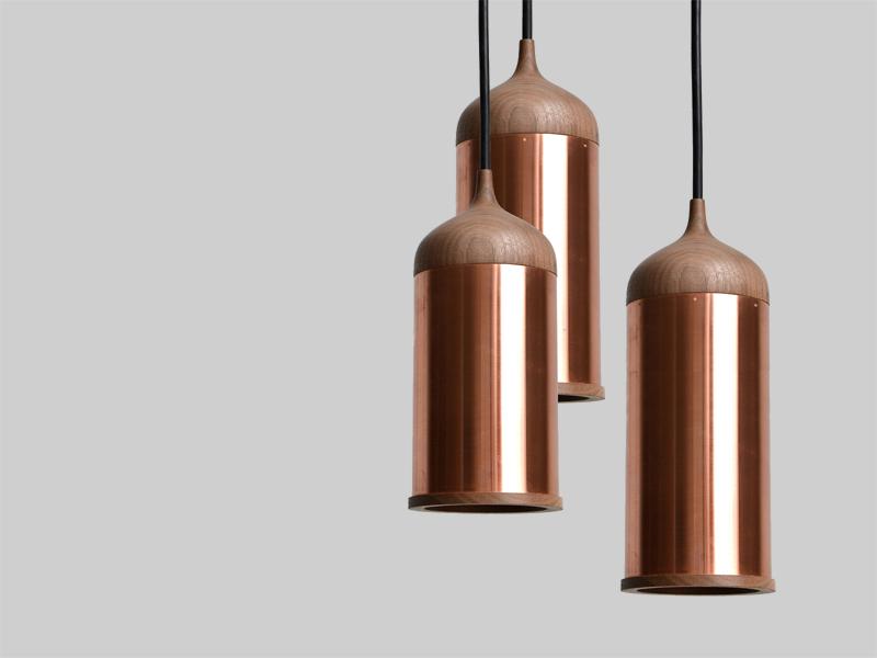 fall design trends copper lamp steven banken