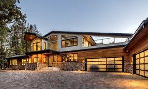 Efficient modern home design in Monte Sereno, CA