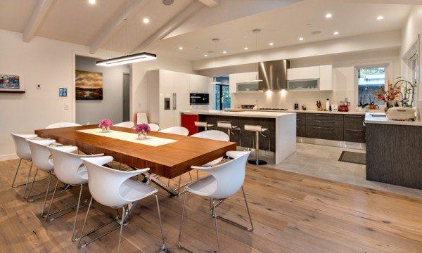 Efficient odern home design in Monte Sereno, CA