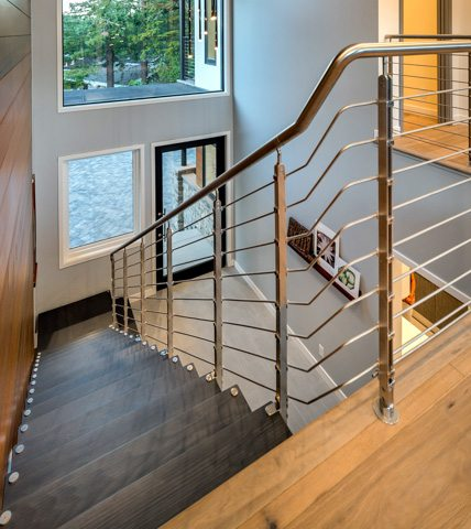 Modern Staircases European Cabinets Amp Design Studios