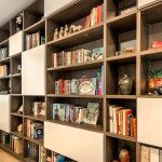 Monte Sereno Modern Library Cabinets Shelving