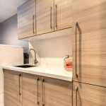 Monte Sereno Modern Laundry Room Cabinets