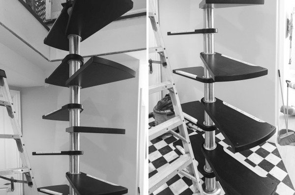 How to Install a Spiral Staircase-IMG_1193