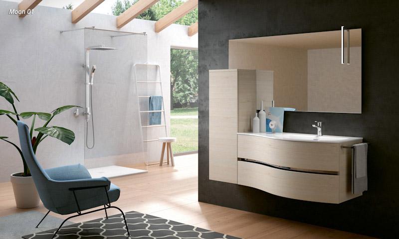 Modern Bathroom Vanities Moon European Cabinets Design