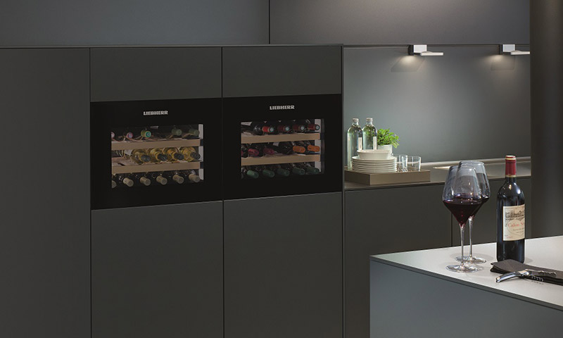 In white or black, the Liebherr 1803 is our favorite new wine fridge of 2016, and we're quite sure, perfect for your kitchen!