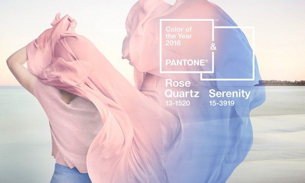 Pantone 2016 Color of the Year Rose Quartz and Serenity