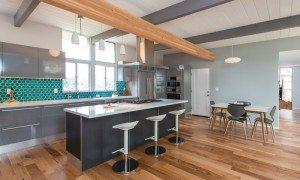Midcentury Modern Eichler kitchen design Lucile Glessner