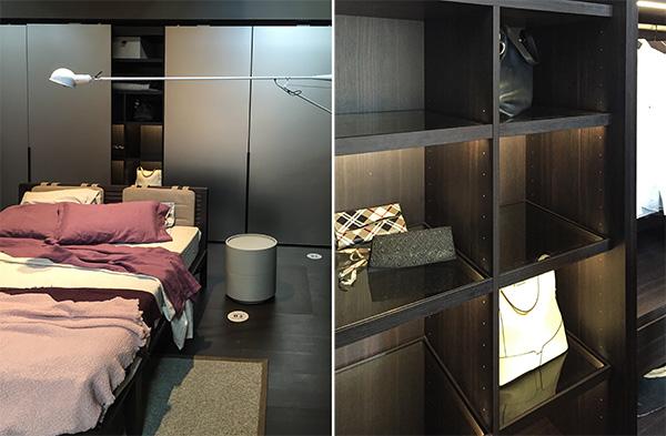 Interior design trends, Pianca closet design, salone del mobile