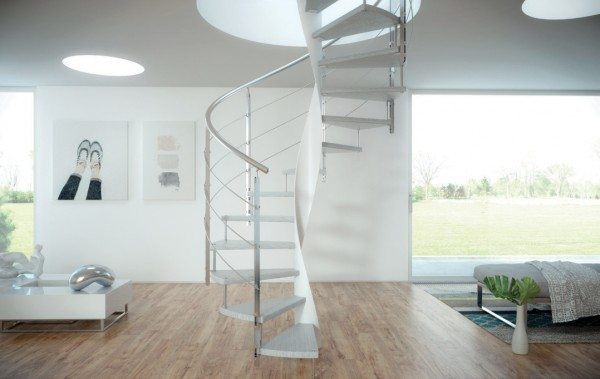 Wind Modern Spiral Staircase By CAST