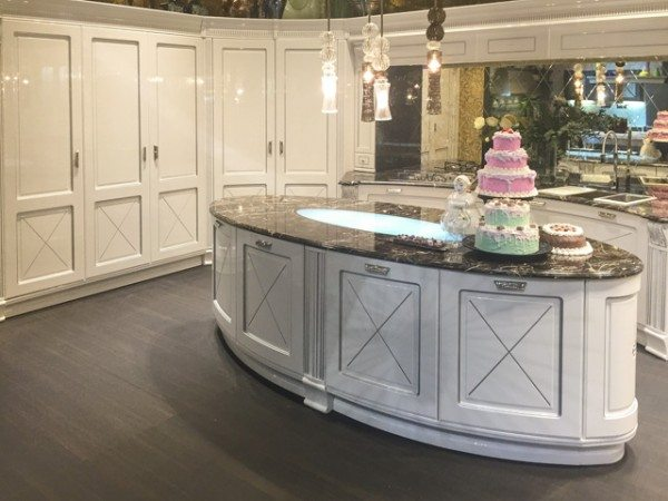 interior design trends, kitchen design, Aran Cucine Imperial collection.