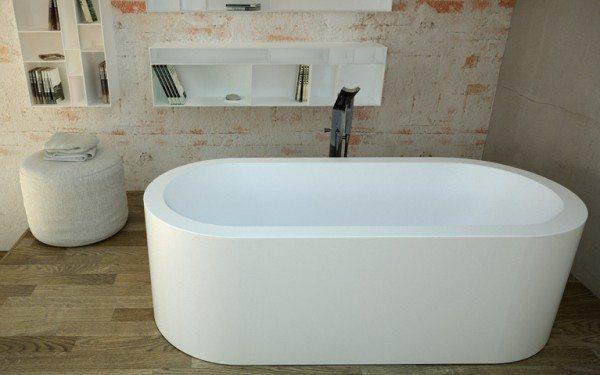 Deep soaking bathtub by Dimasi