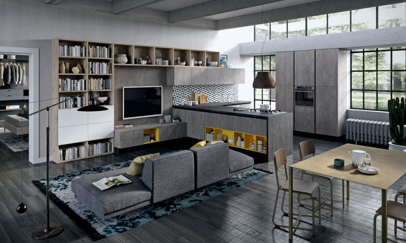 how design open kitchen
