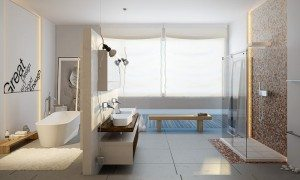 Must-have features a modern master bathroom
