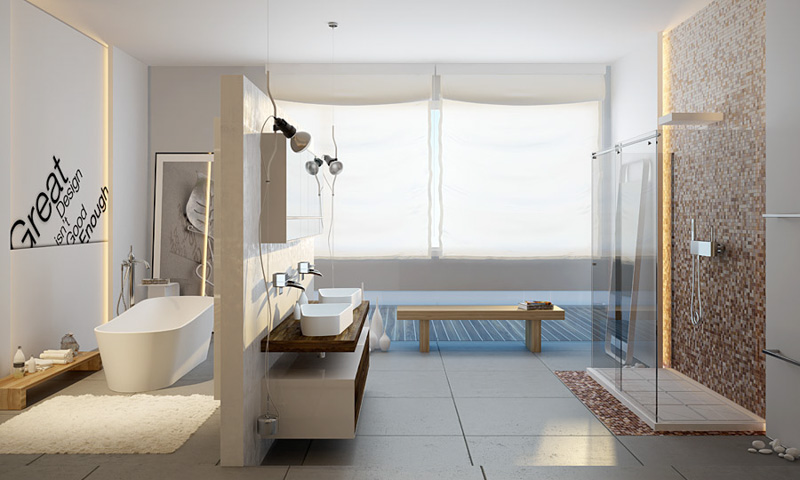 12 Must Have Features For Every Modern Master Bathroom