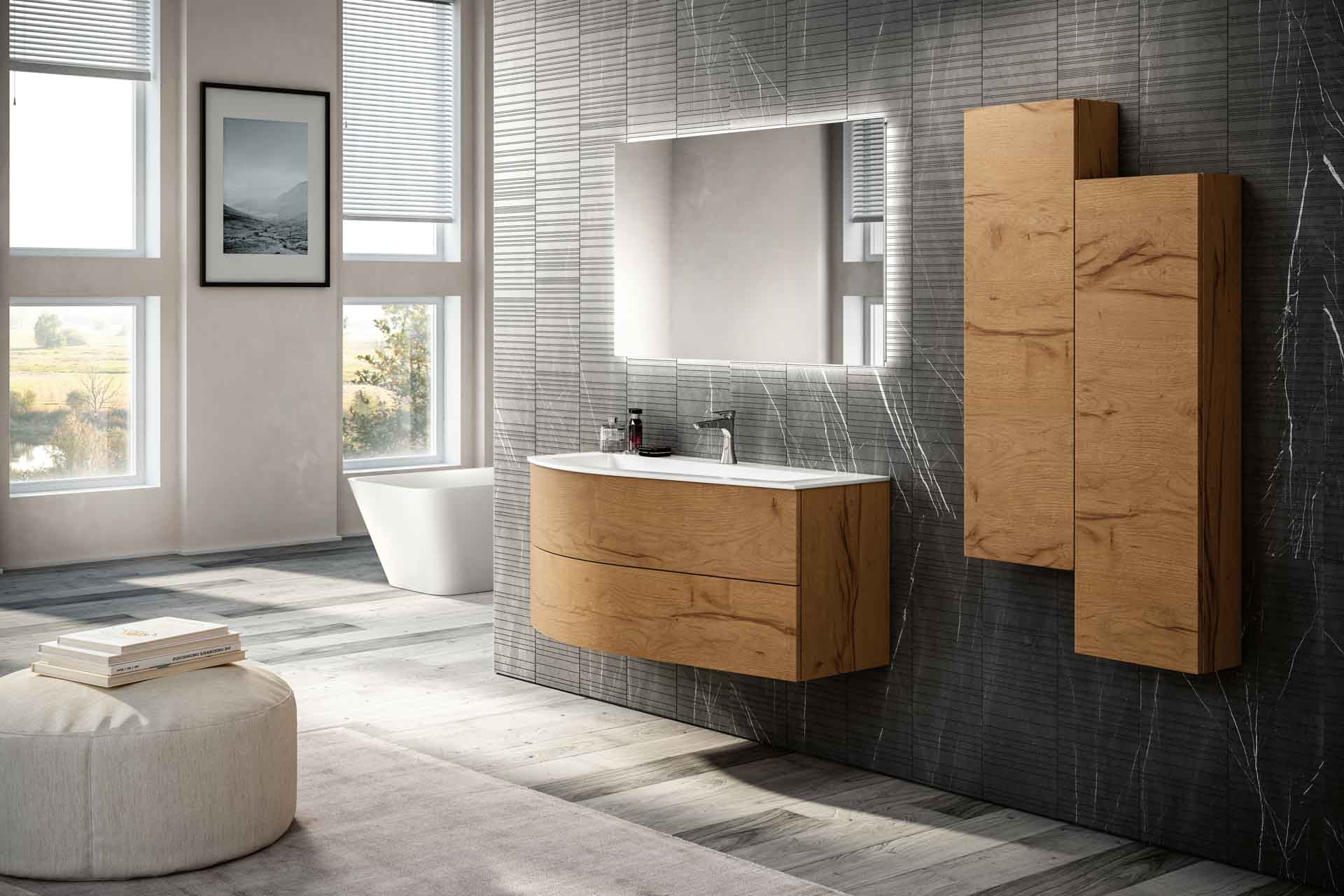 Floating Bathroom Vanity Latitudine European Cabinets