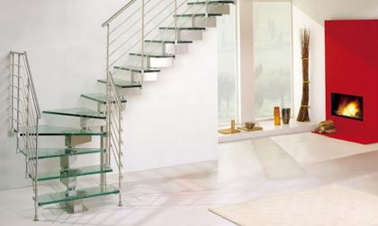 Custom Staircase Glass