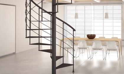 Custom Staircase Design Spiral