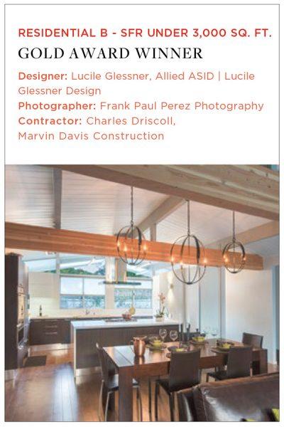 ASID Gold Award kitchen design