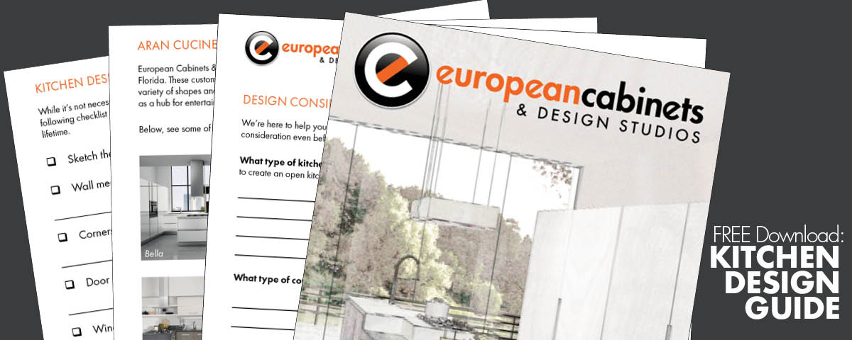 Kitchen Cabinets European Cabinets Design Studios