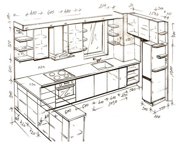 kitchen design process step 1
