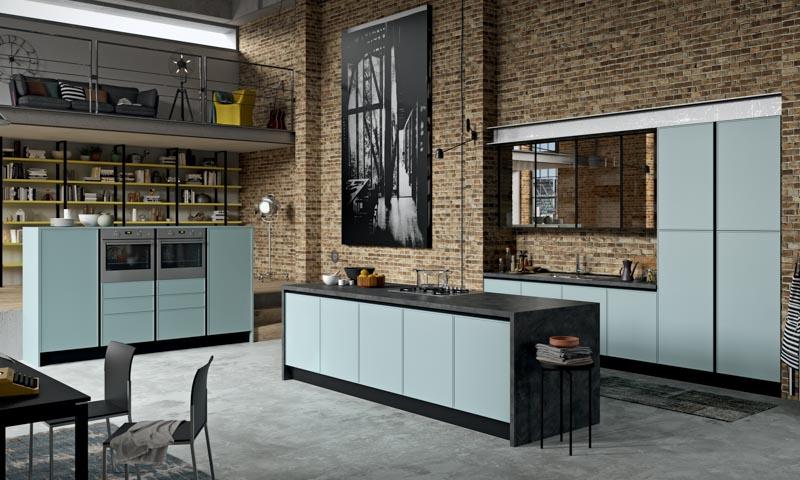 Modern Kitchen Cabinets Faro E Quadro European